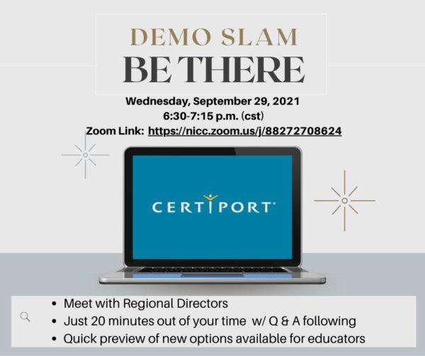 Demo Slam Info